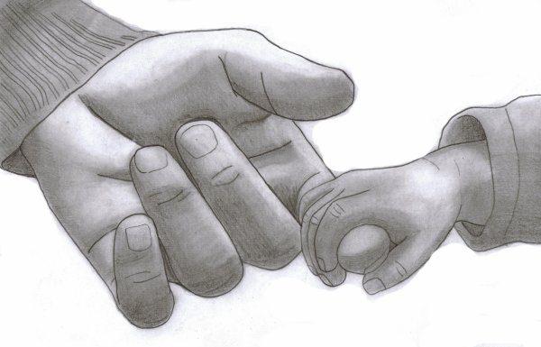 Soin énergétique Enfant - Prendre son enfant par la main et l'emmener vers Demain